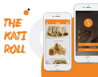 The KATI ROLL   Food Delivery App