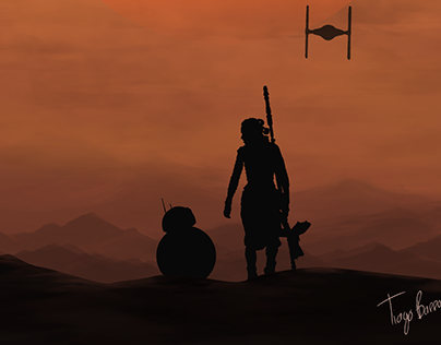 Star Wars - Fan Art Poster