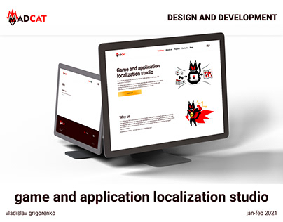Website for localization studio