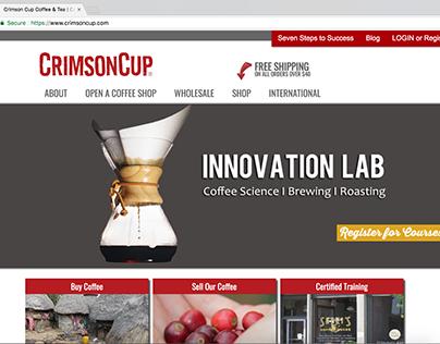 Crimson Cup Coffee: Web Development