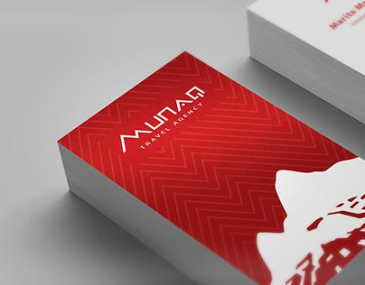 Branding: Munaq Travel Agency
