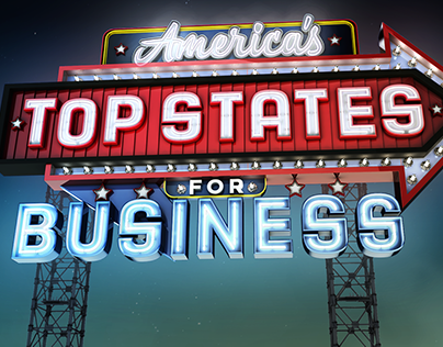 America's Top States for Business Animation Package
