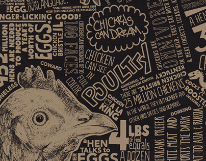 Chicken Scratch, Chicken Facts Poster