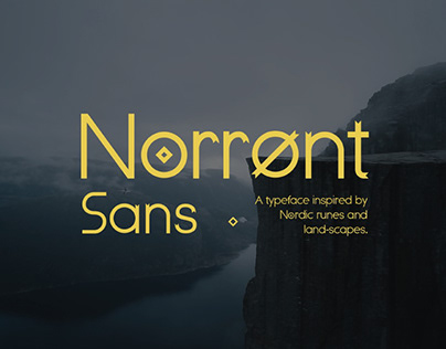 NORRONT - FREE FONT