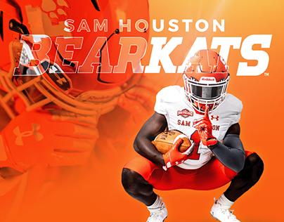 Sam Houston State Bearkats — Athletics Rebrand
