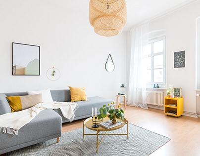 80's-inspired furnishings