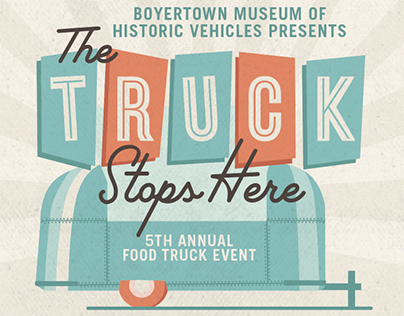 Boyertown Museum of Historic Vehicles Food Truck Event