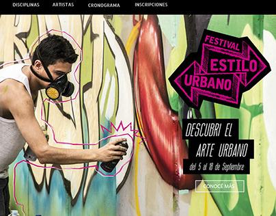 Website / Street Art Festival
