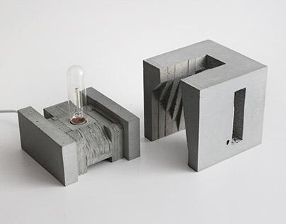 Sculptural Lamp no. 2