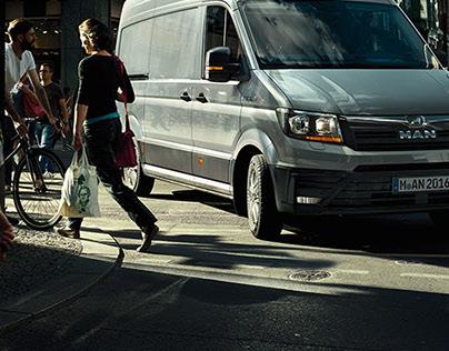 MAN – It's not a van. It's a MAN.