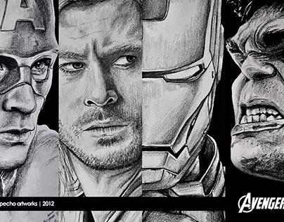 The Avengers Portrait Series