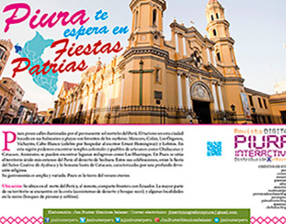 Revista digital Piura interactiva