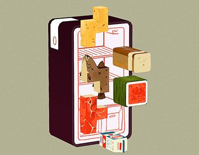 Fridge Tetris