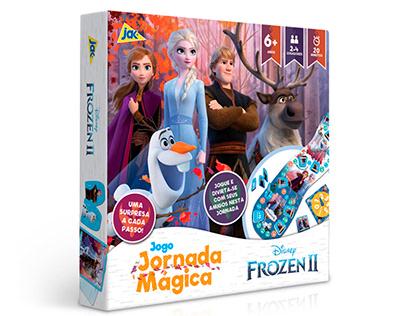 Official Frozen II Board Games