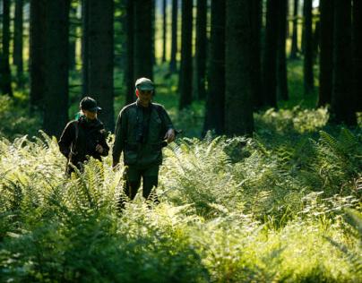 hunters walk