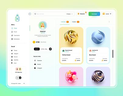 🚀NFT Marketplace Web App.