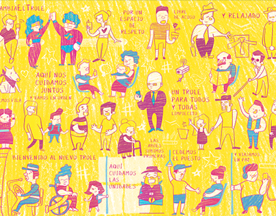 Ilustración - El Trole Cambia