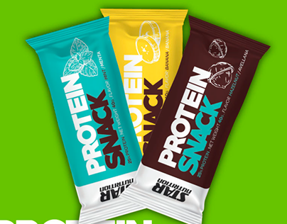 Protein Snack - packaging Star Nutrition