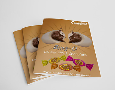 Candy Flyer Design