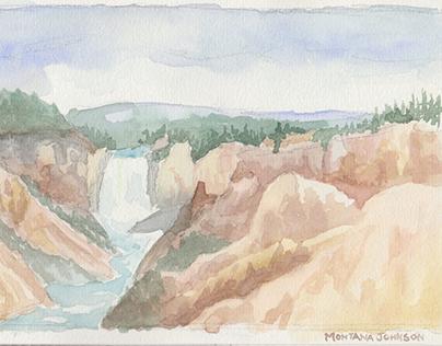 Summer 2016- Traveling Watercolor Journal