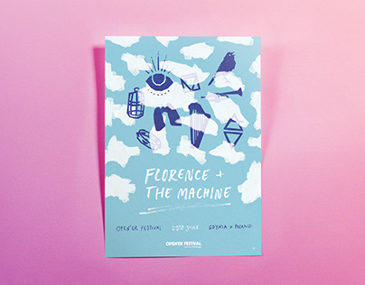 Florence + the Machine @ Open'er / posters