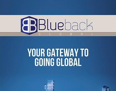Blueback Global Brochure Design