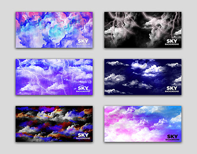 Cloud Sky Abstract Background Design