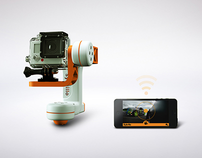 Remote controlled gimbal