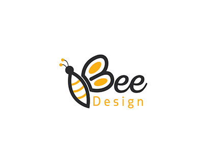 Bee design logo