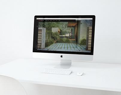 Sito web per studio di architettura ROSSOMATTONE