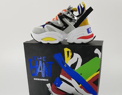 dsquared dean and dan sneakers - 62