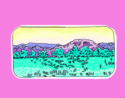 Little Landscapes / Illustration Series