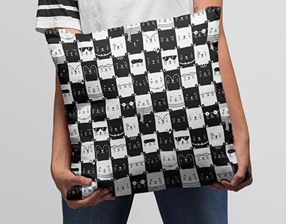 Checkered Kitties