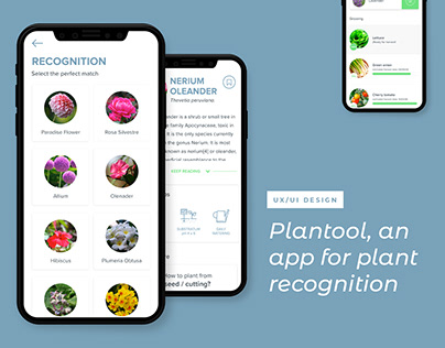 Diseño UI - Plantool