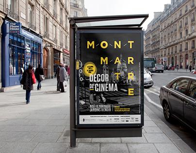 Montmartre, Décor de Cinema