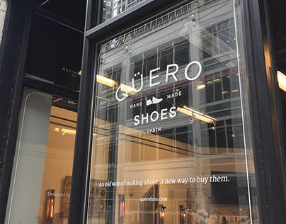 Qüero Shoes Brand and E-Commerce Website