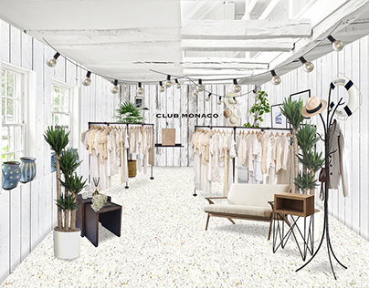 Club Monaco Pop-Up Shop Concept