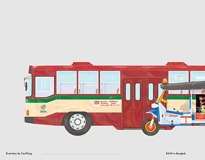 城市紀錄|BMTA Bus In Bangkok