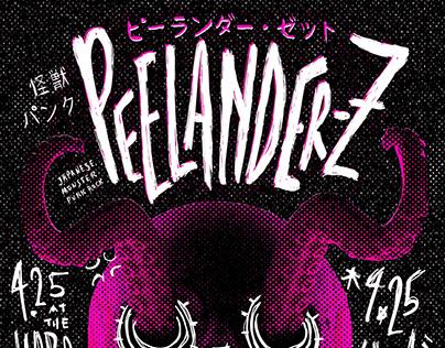 Peelander-Z Gig Flyer
