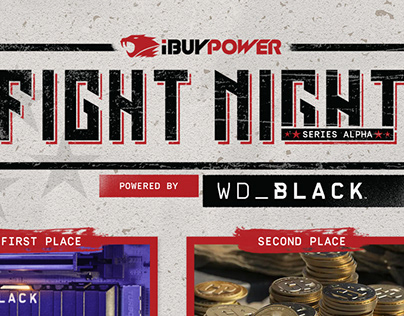 iBUYPOWER Fight Nights Powered by WD_BLACK Graphics