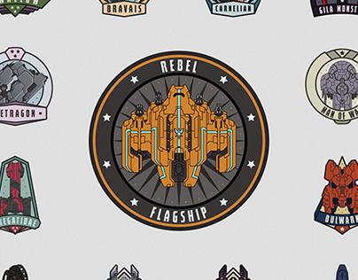 Faster Than Light (FTL) Badges - Fanart Project