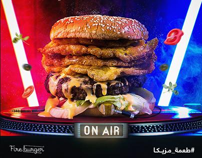 Fire Burger - Social Media
