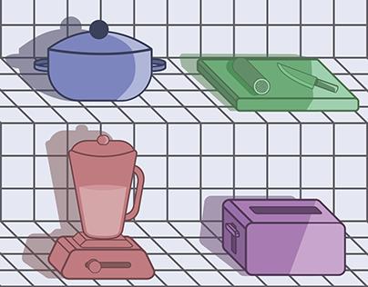 Kitchen in Motion