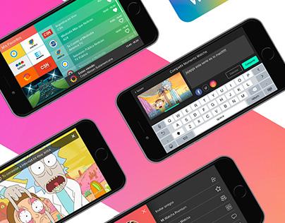 Watcha.live Branding & App Design