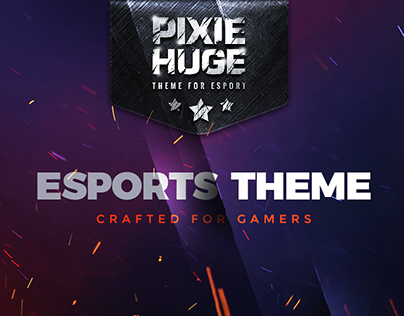 PixieHuge | eSports & Gaming WordPress Theme