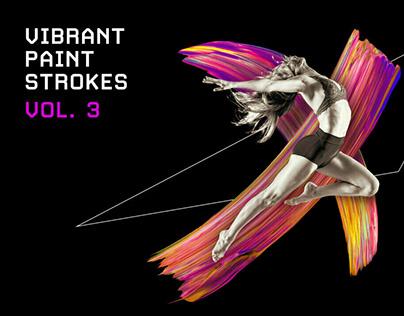 Vibrant Paint Strokes by Chroma Supply