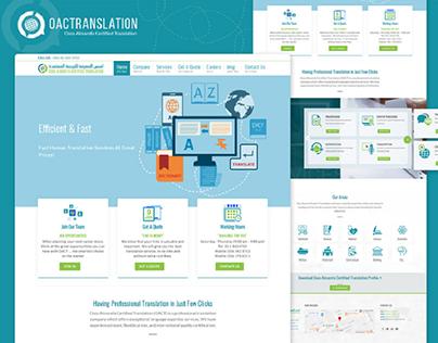OACT©   UX/UI Design Website