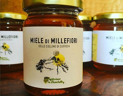 MIELE - progettazione e illustrazione etichetta
