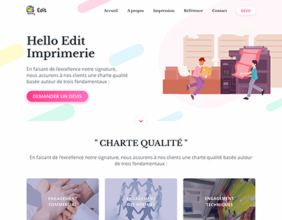 Imprimerie Website