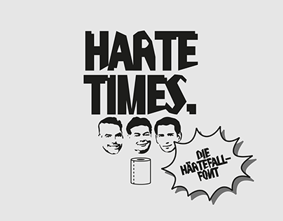 HARTE TIMES - Typedesign/Satire